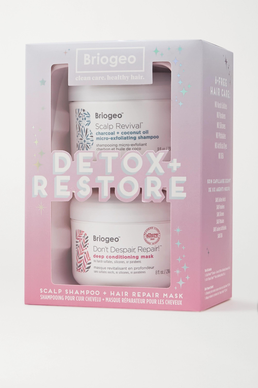 Briogeo Detox + Restore Set – Haarpflegeset