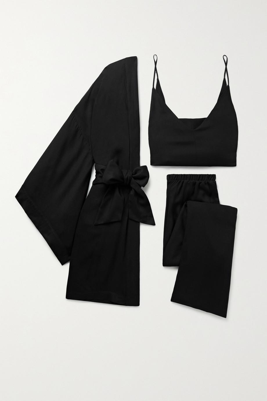 Marika Vera Elle crepe robe and pajama set