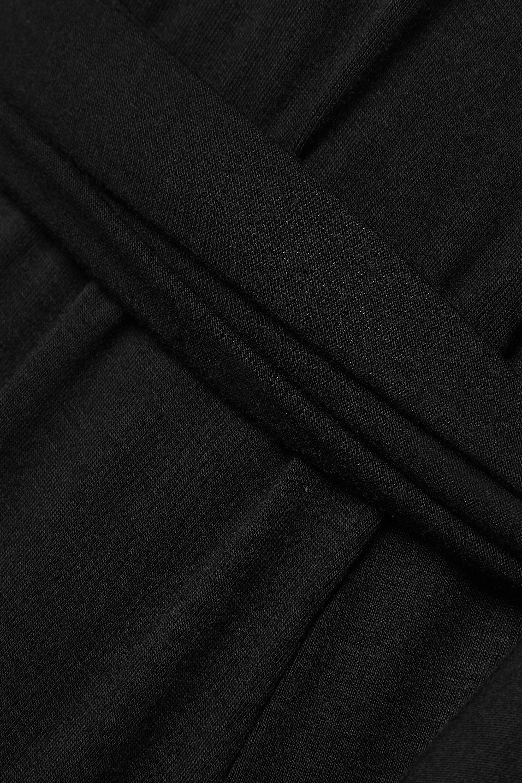 Marika Vera Alice convertible stretch-jersey wrap maxi dress