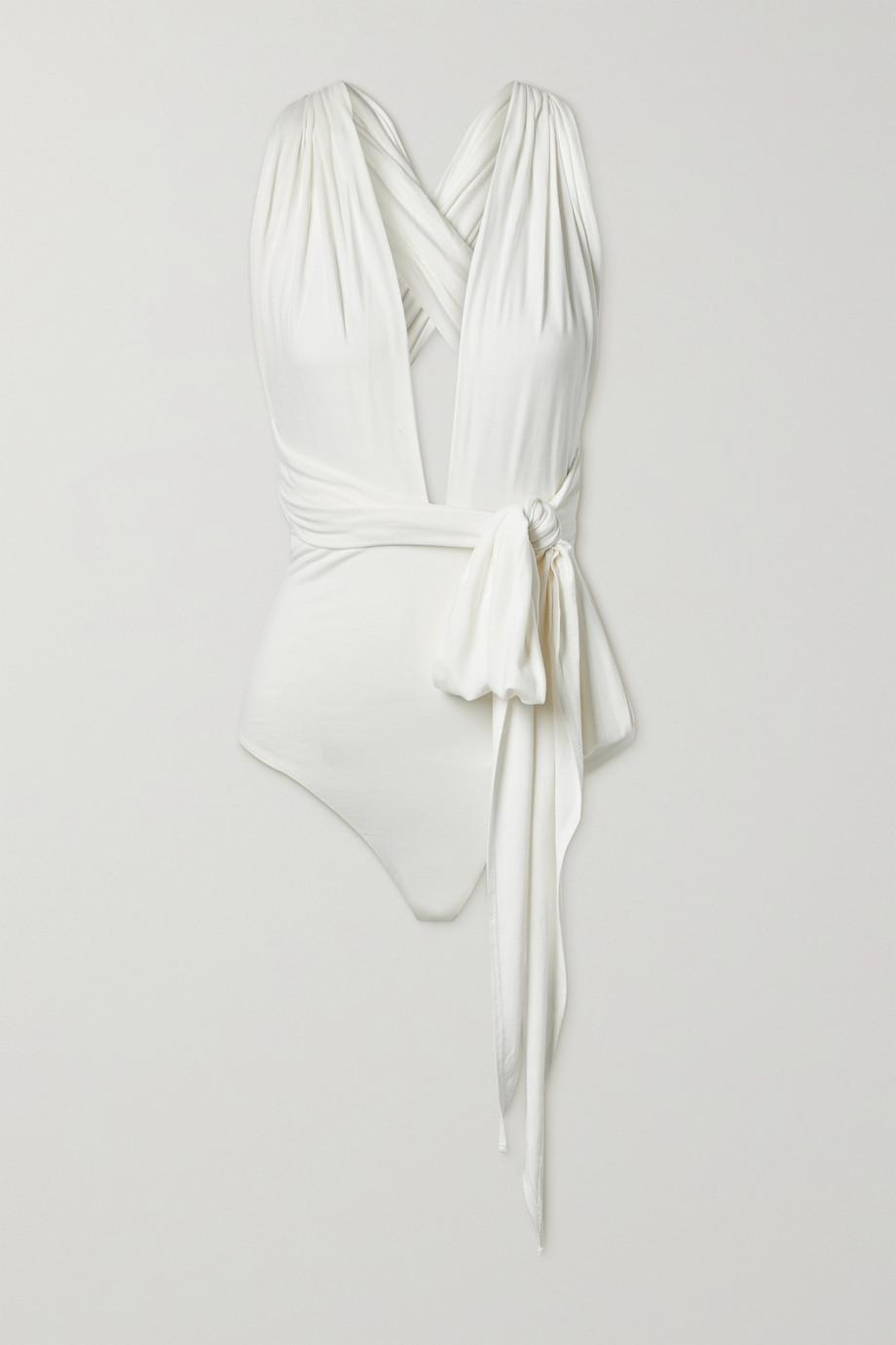 Marika Vera Alice wandelbarer String-Body aus Stretch-Jersey