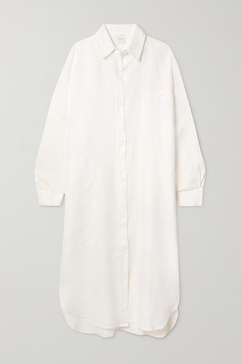 Max Mara Robe-chemise en lin Procida Leisure