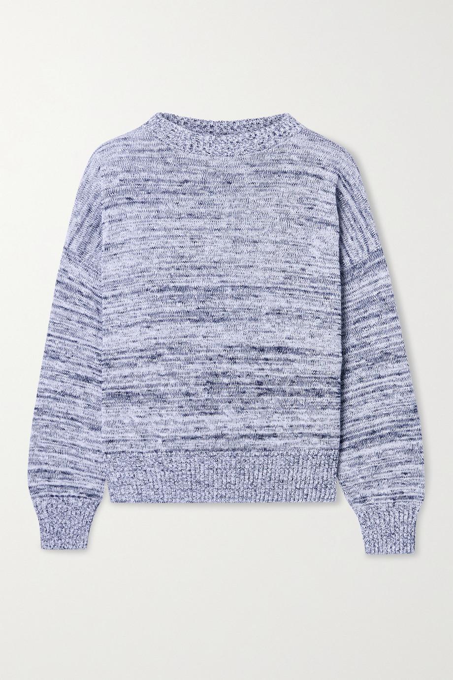 Max Mara + Leisure Hangar mélange cotton sweater