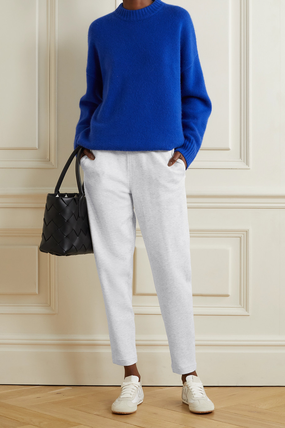 Max Mara + Leisure Pesca cotton-blend jersey track pants