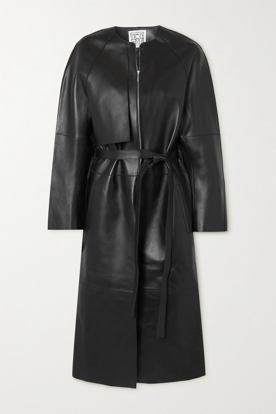 Totême Trench-coat en cuir