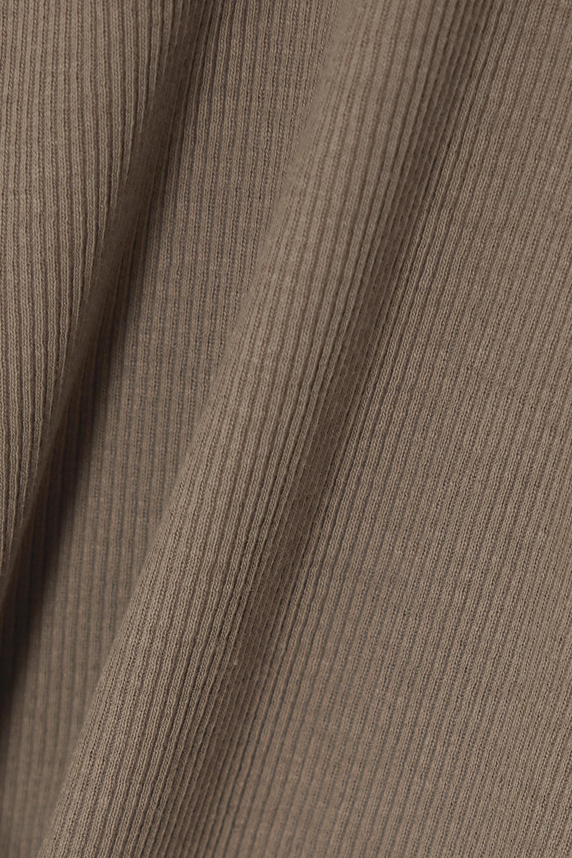 Totême Débardeur en jersey de coton biologique stretch côtelé Espera