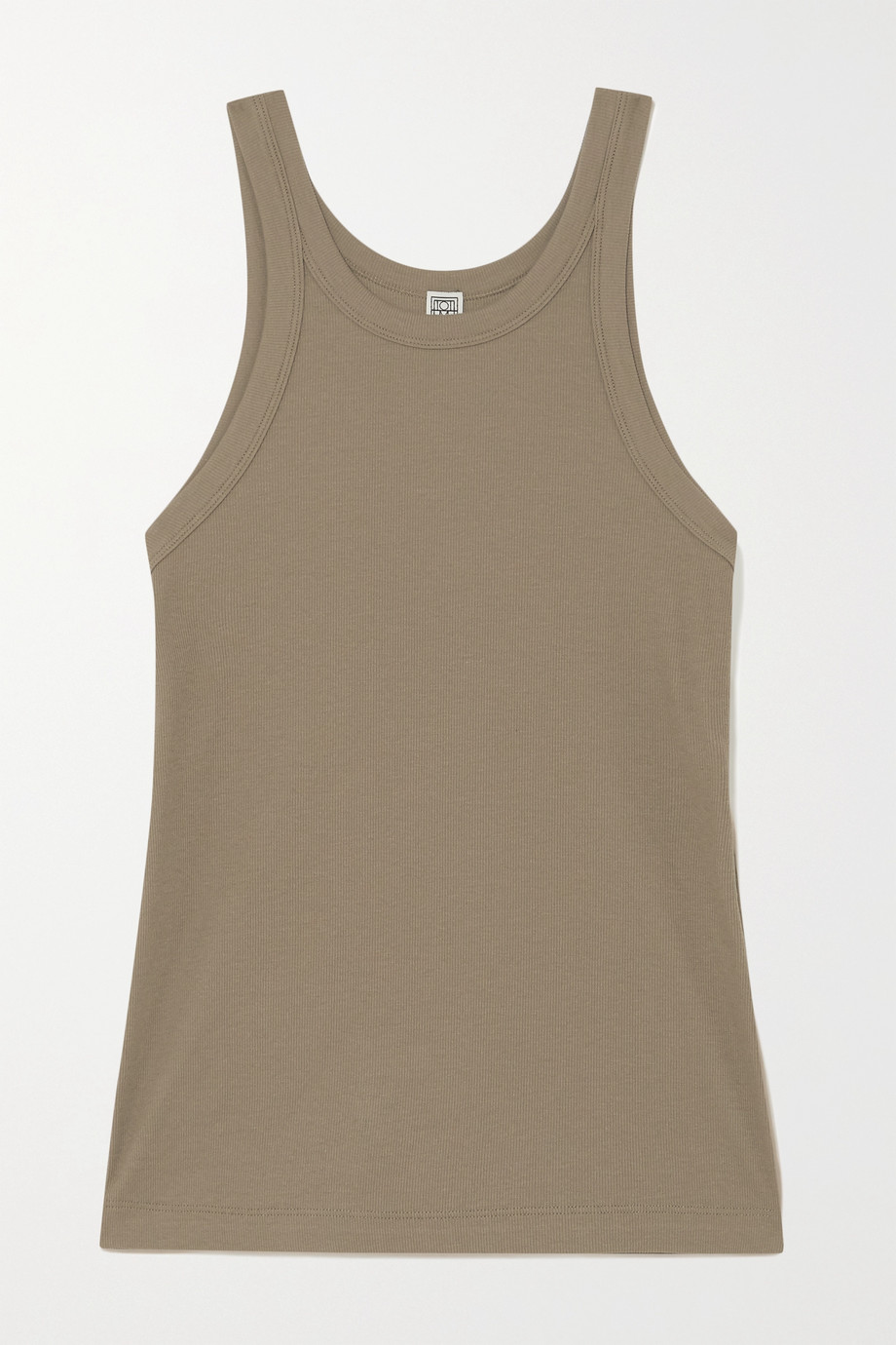 Totême Espera ribbed stretch-organic cotton jersey tank