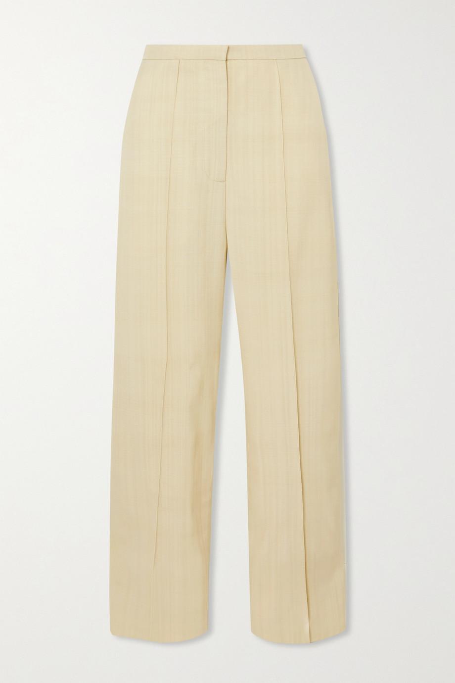 Totême Pine woven wide-leg pants
