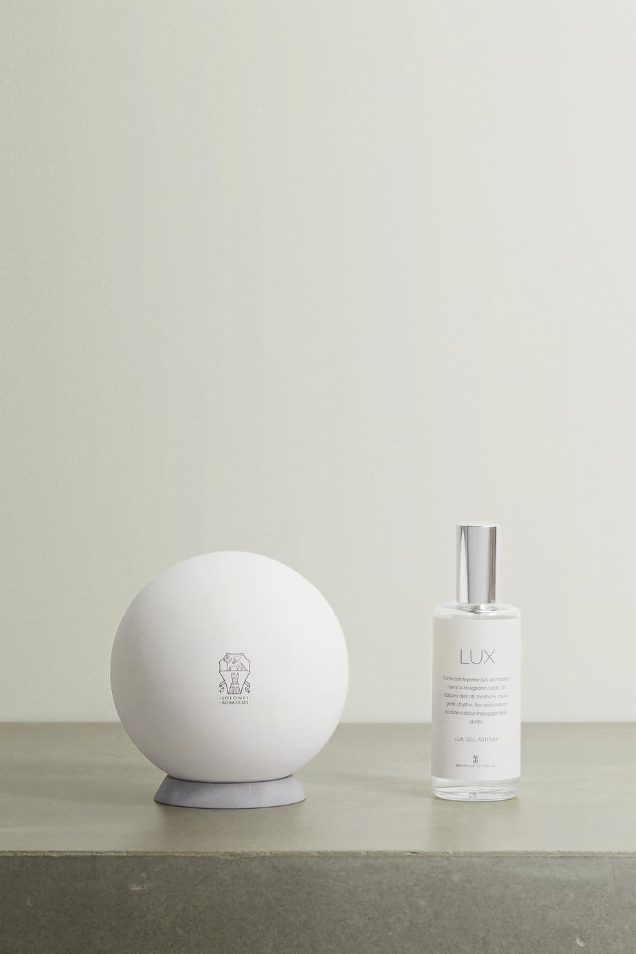 Brunello Cucinelli Lux Sphere diffuser and refill set