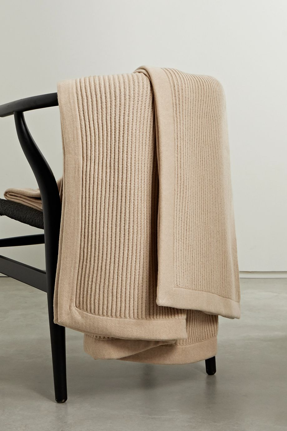 Brunello Cucinelli Ribbed cashmere throw