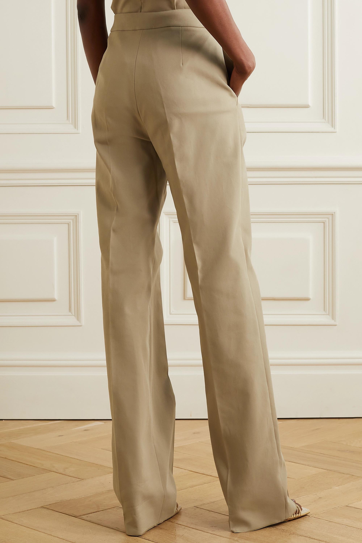 Max Mara Antares Hose mit geradem Bein aus Stretch-Baumwolle