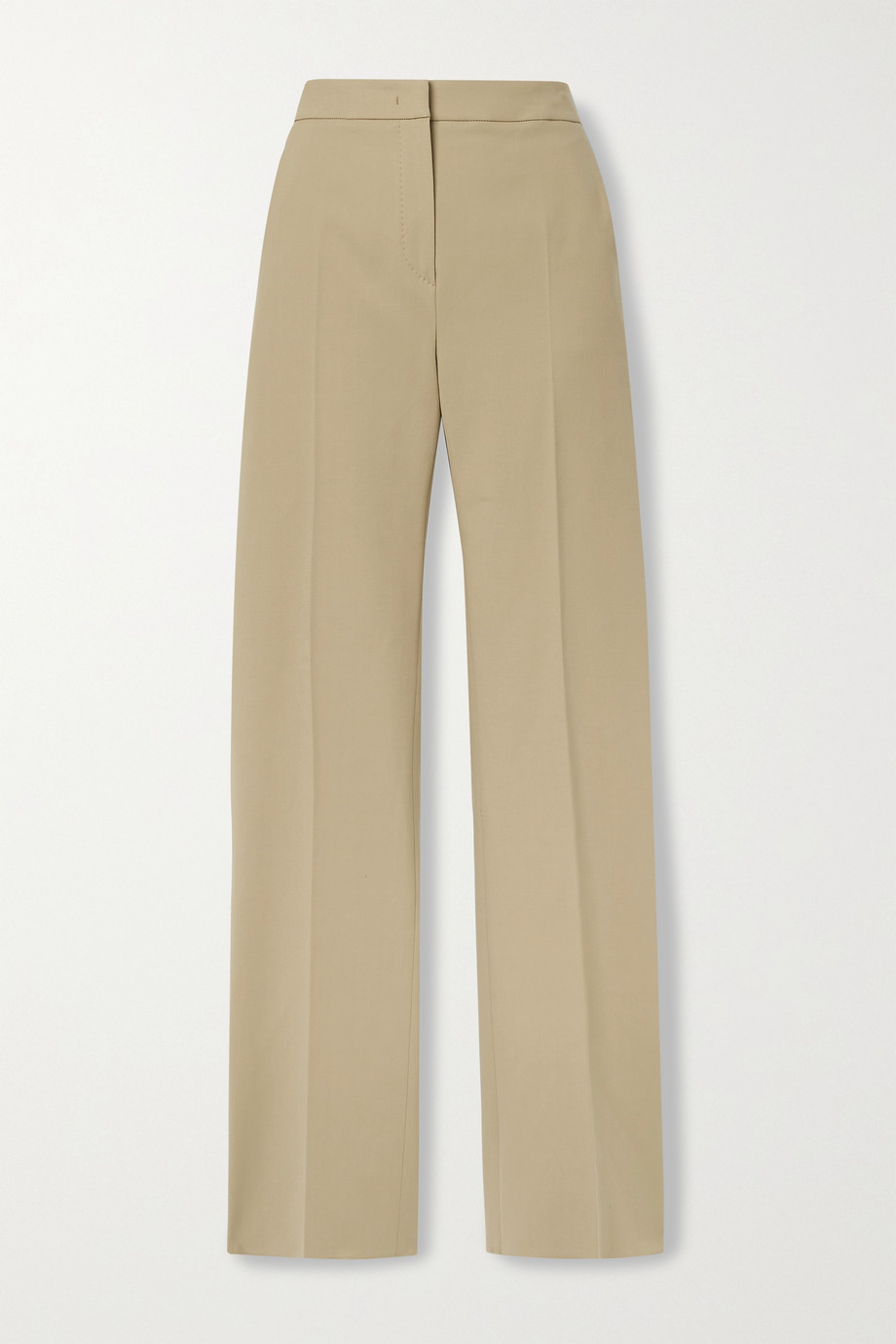 Max Mara Antares stretch-cotton straight-leg pants
