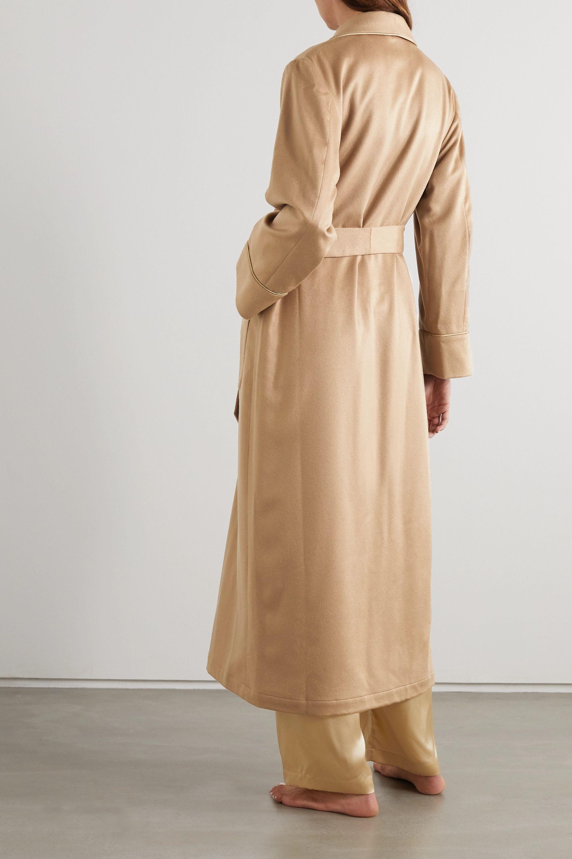 Johnstons of Elgin Belted cashmere robe
