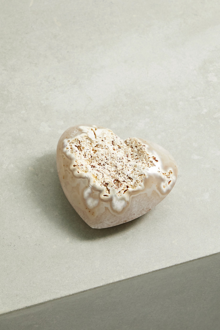 Kimberly McDonald Heart mineral geode