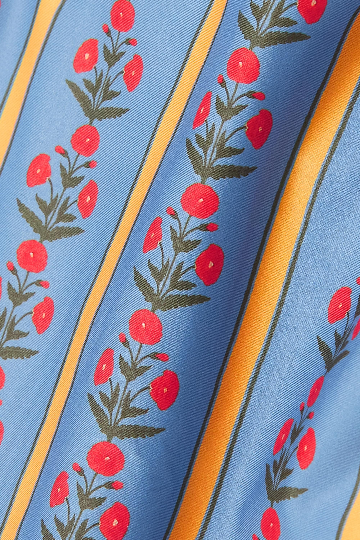 Agua by Agua Bendita Durazno floral-print swimsuit