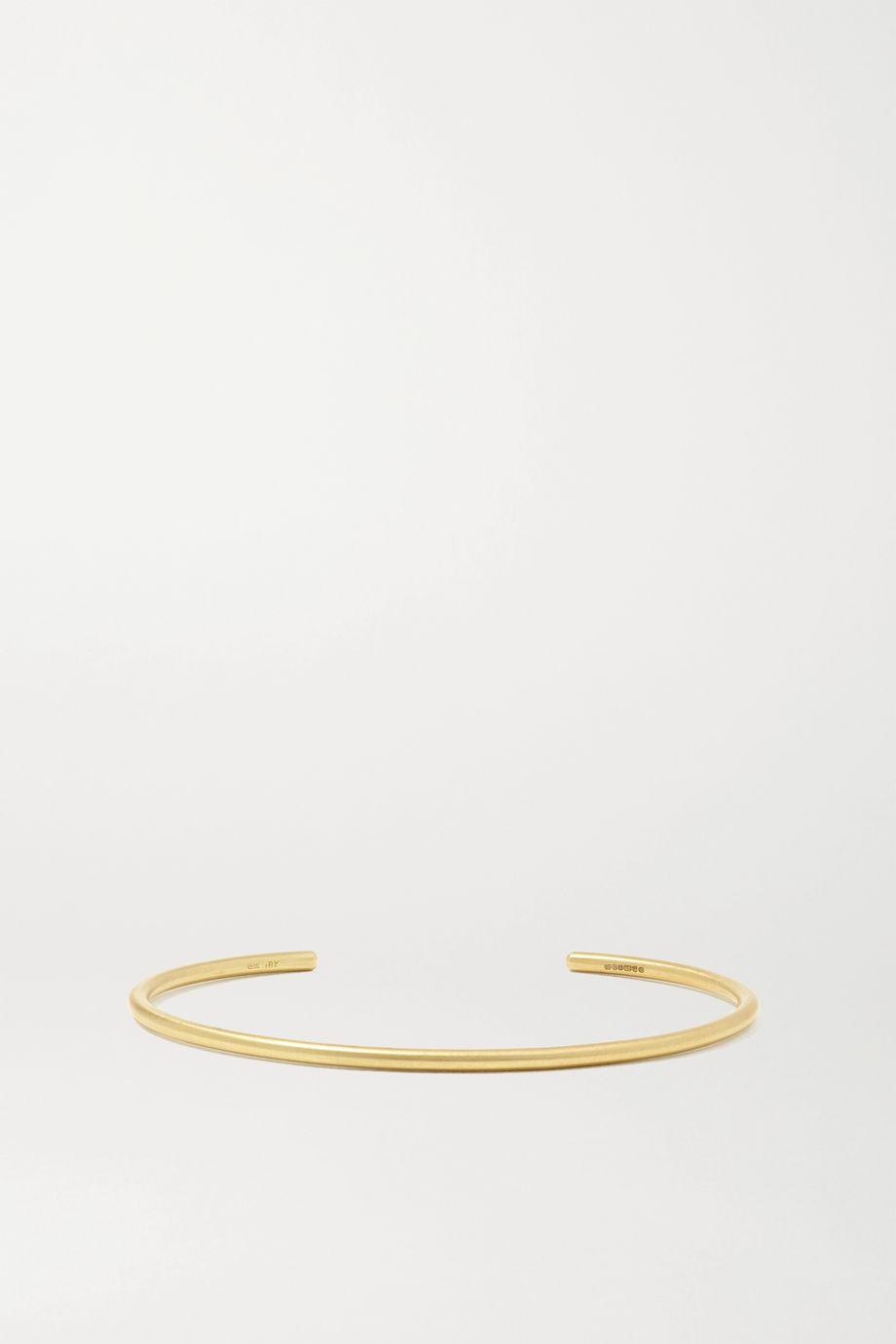Brooke Gregson 18-karat gold cuff