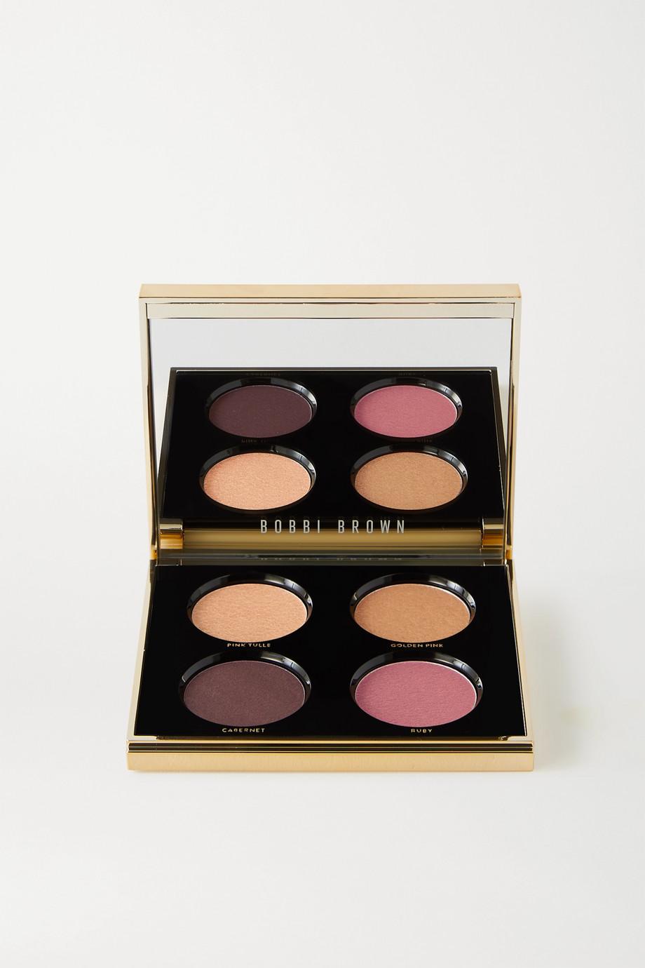 Bobbi Brown Luxe Encore Eye Shadow Palette – Burgundy – Lidschattenpalette