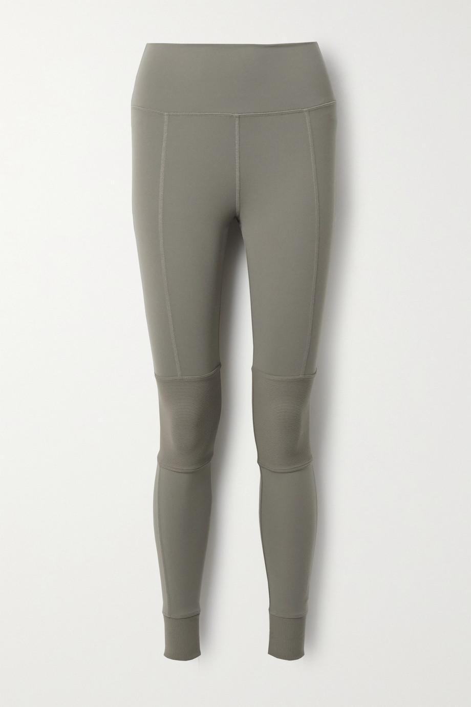 Alo Yoga Avenue paneled stretch leggings