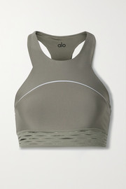 Alo Yoga Sequence stretch sports bra