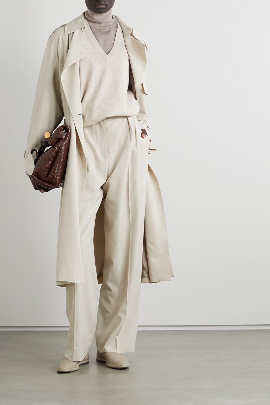 Brunello Cucinelli Bead-embellished cashmere sweater