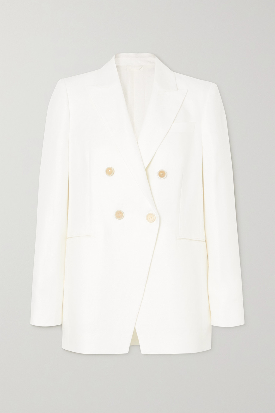 Brunello Cucinelli Double-breasted twill blazer