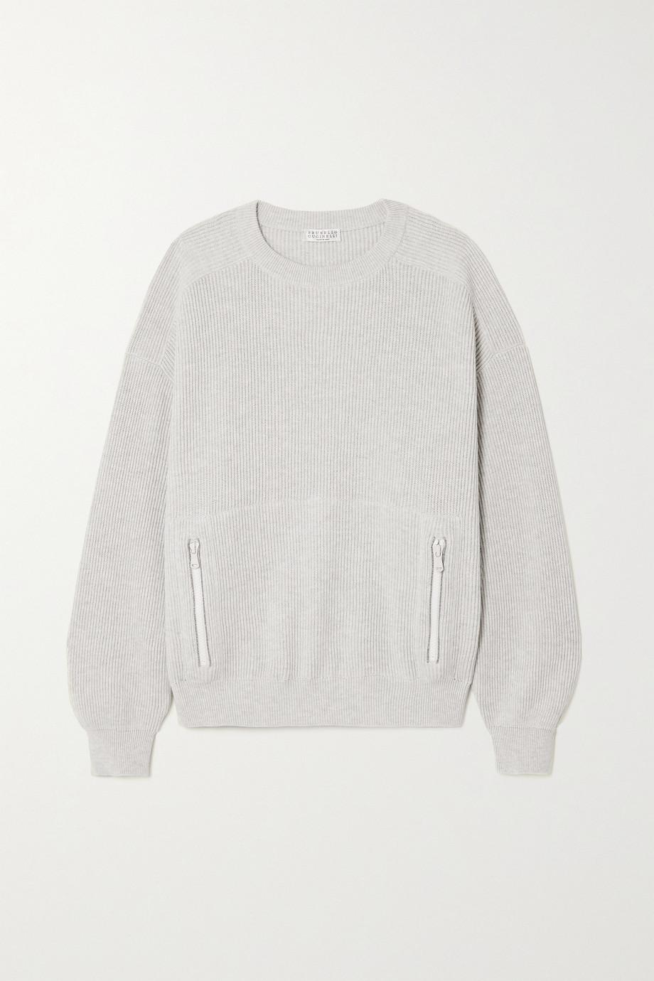 Brunello Cucinelli Ribbed cotton sweater