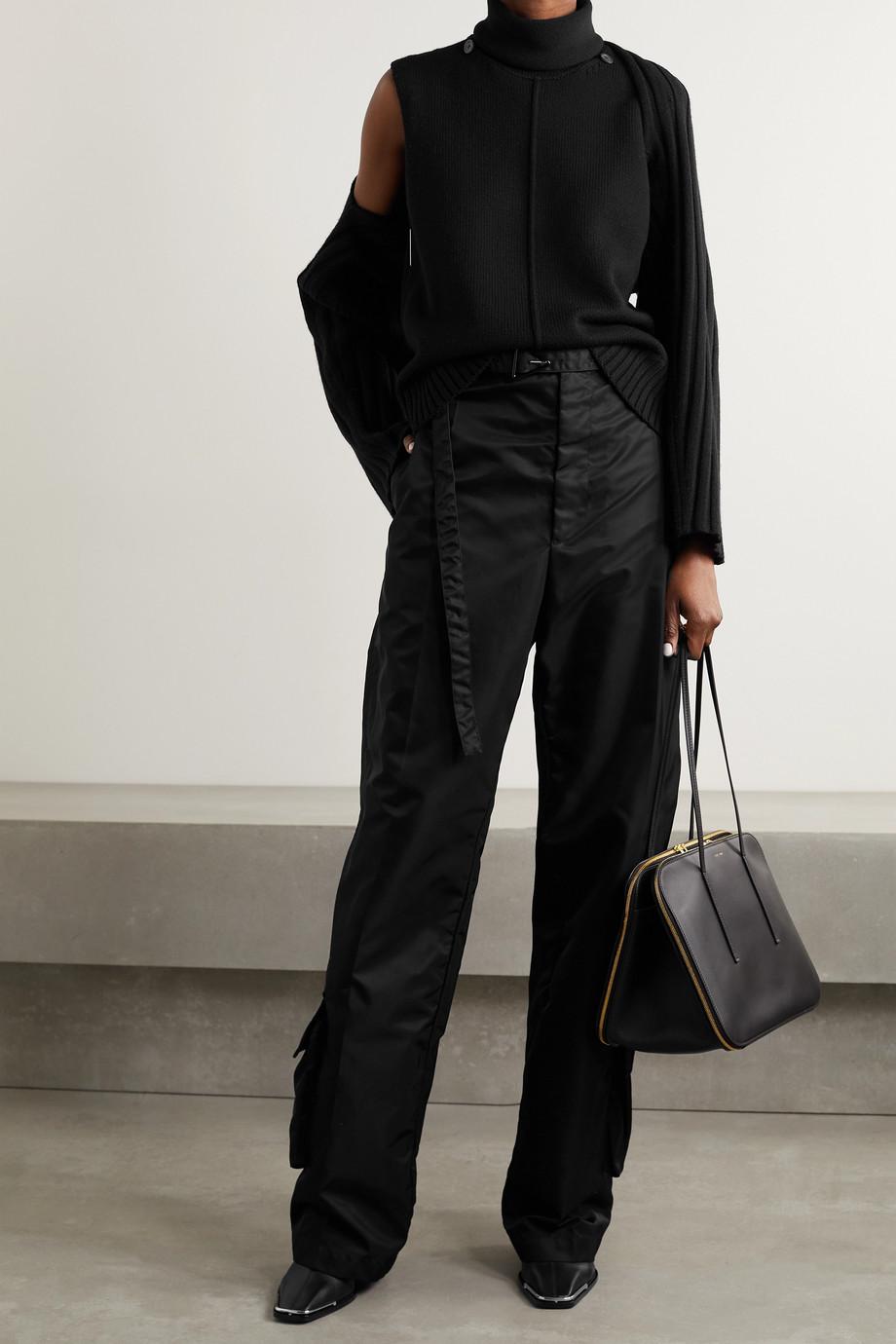 Peter Do Grace convertible wool-blend sweater