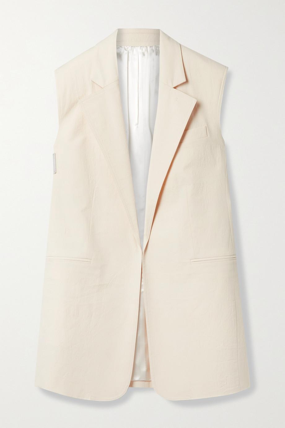 Peter Do Textured cotton-blend vest