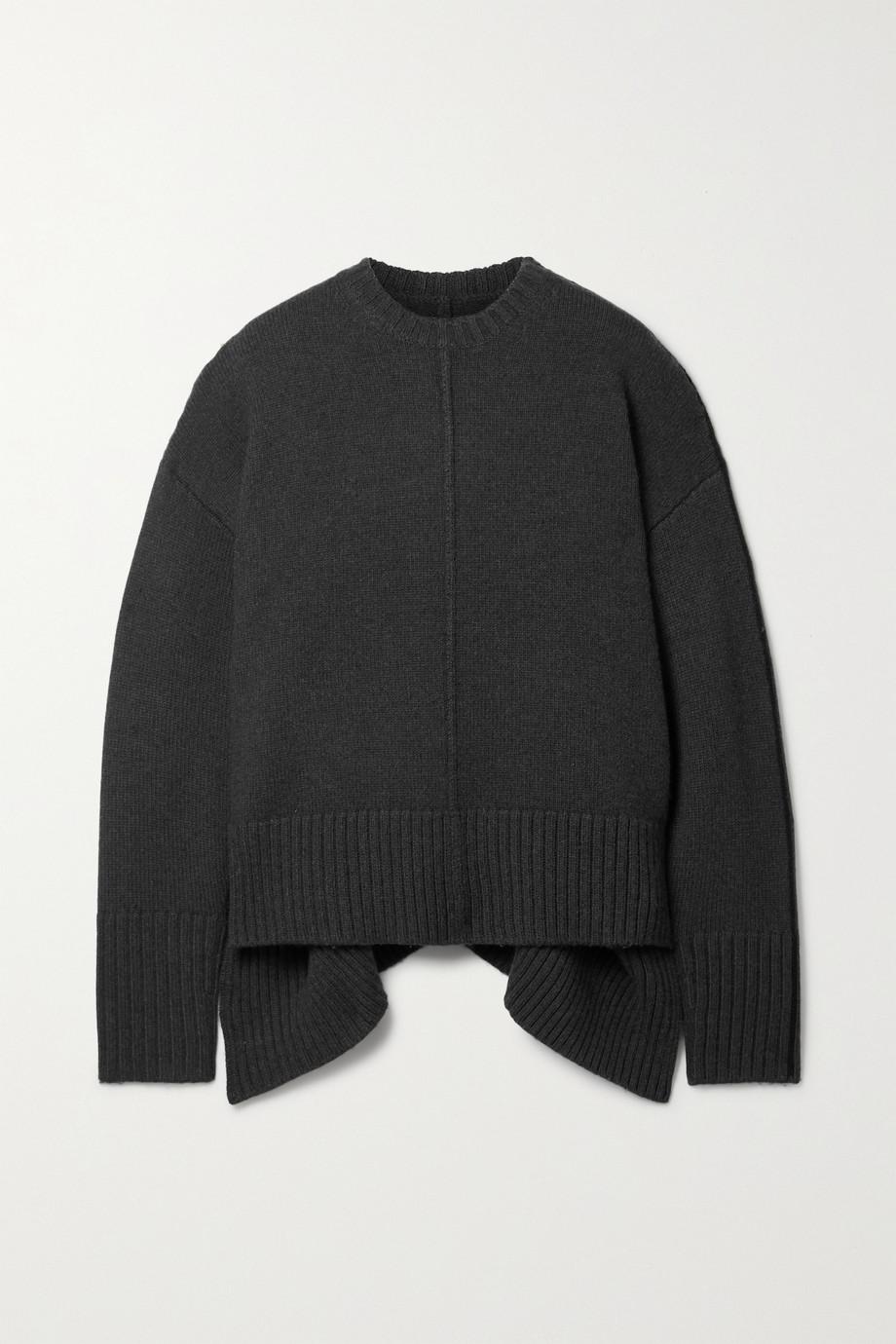 Peter Do Bebe oversized asymmetric wool sweater