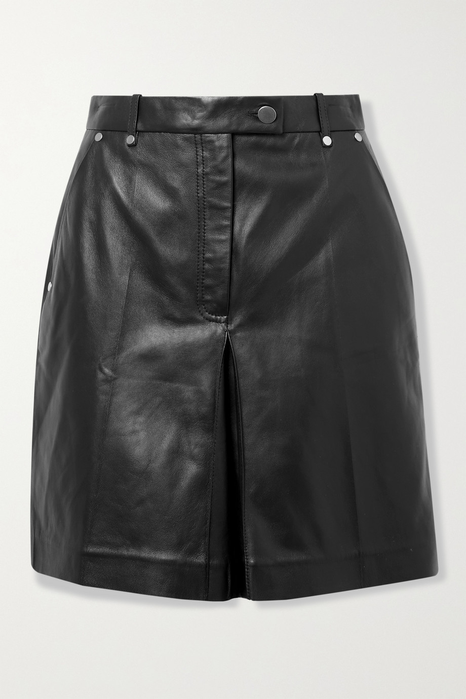 Peter Do Leather shorts