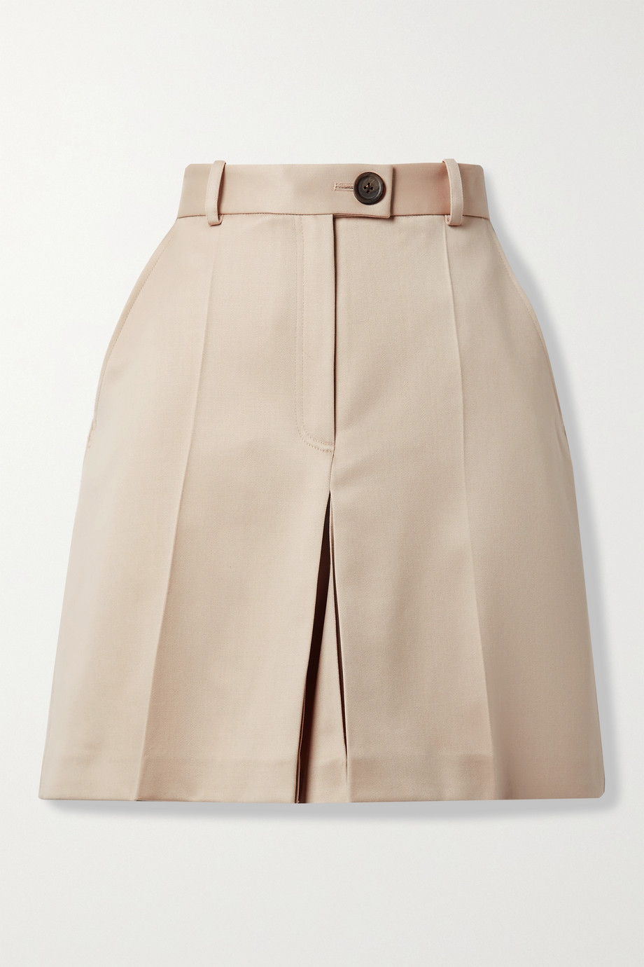 Peter Do Pleated wool shorts