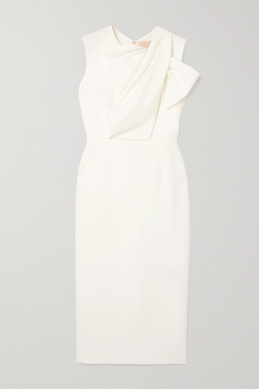 Roksanda Kleid aus Crêpe mit Schleife
