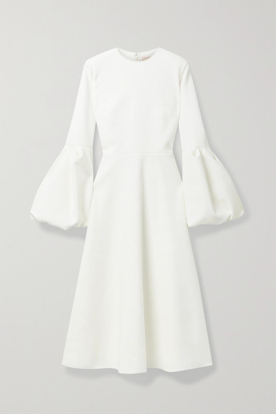 Roksanda Aylin tulle-trimmed cady midi dress