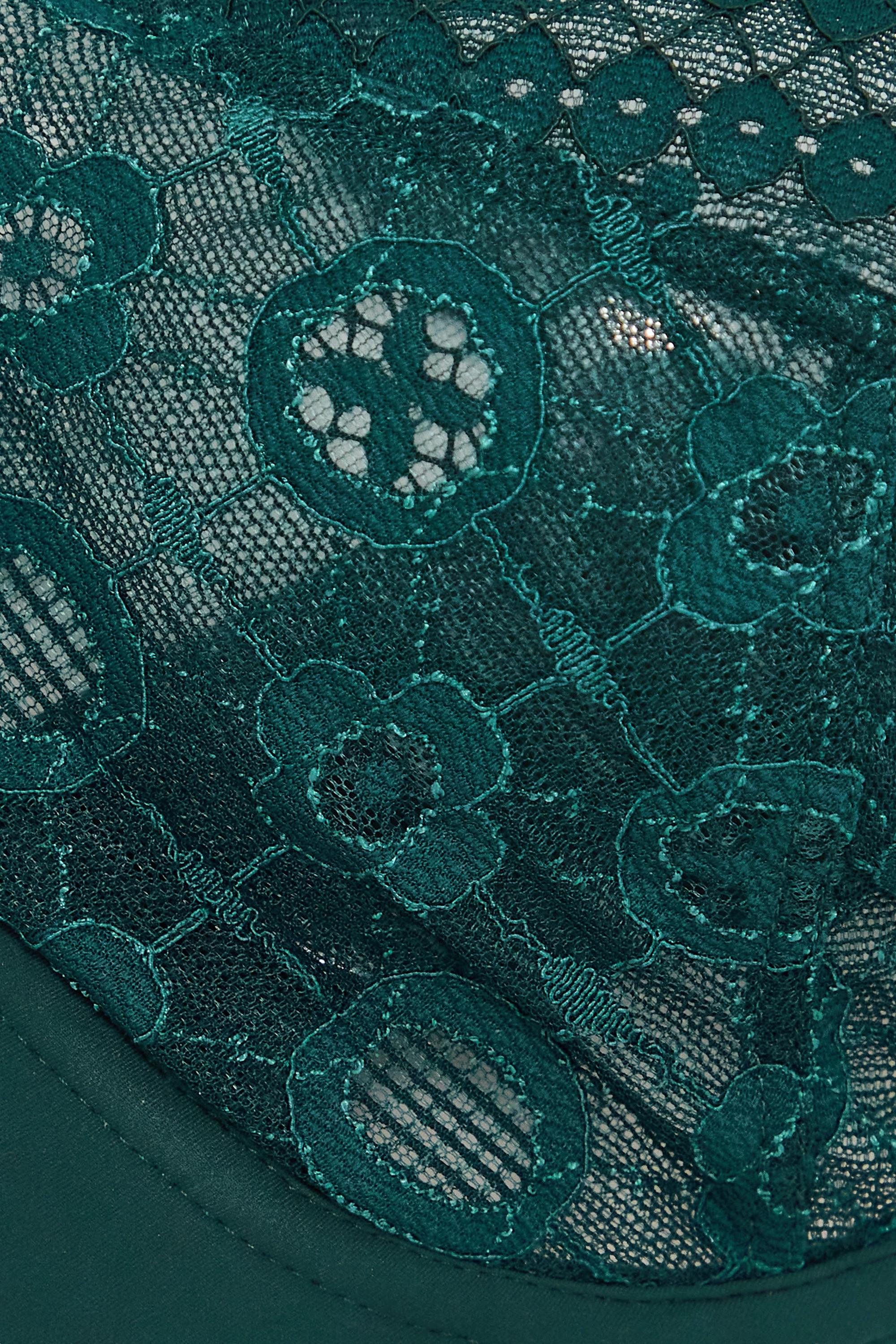 Maison Lejaby Daphne Bügel-BH aus Stretch-Tüll und schnurgebundener Spitze