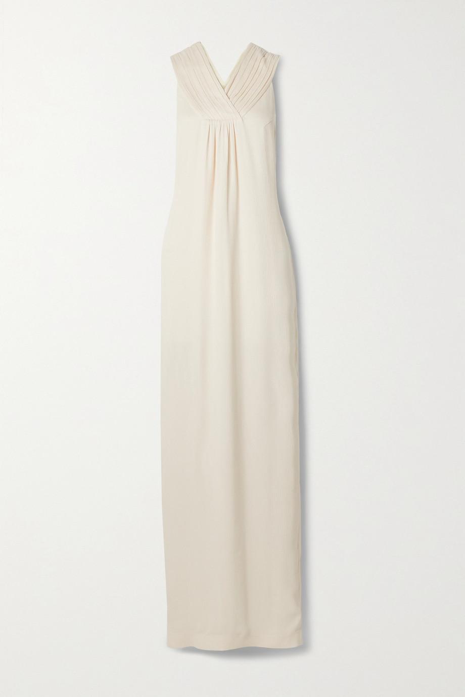 TOVE Isola silk-crepon maxi dress