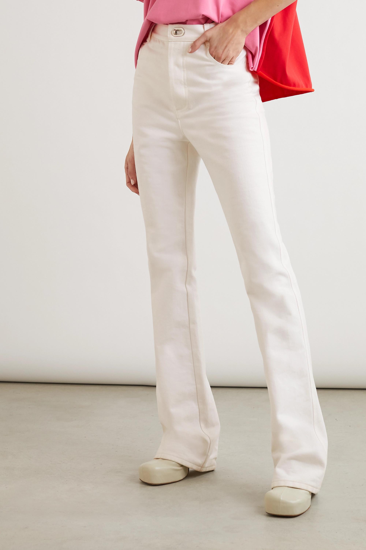 Bottega Veneta High-rise slim-leg jeans