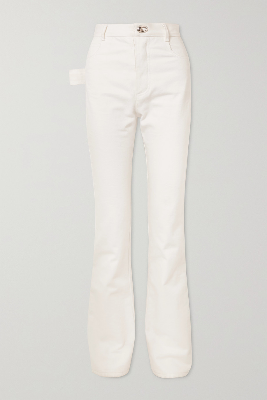 Bottega Veneta High-rise slim-leg jeans