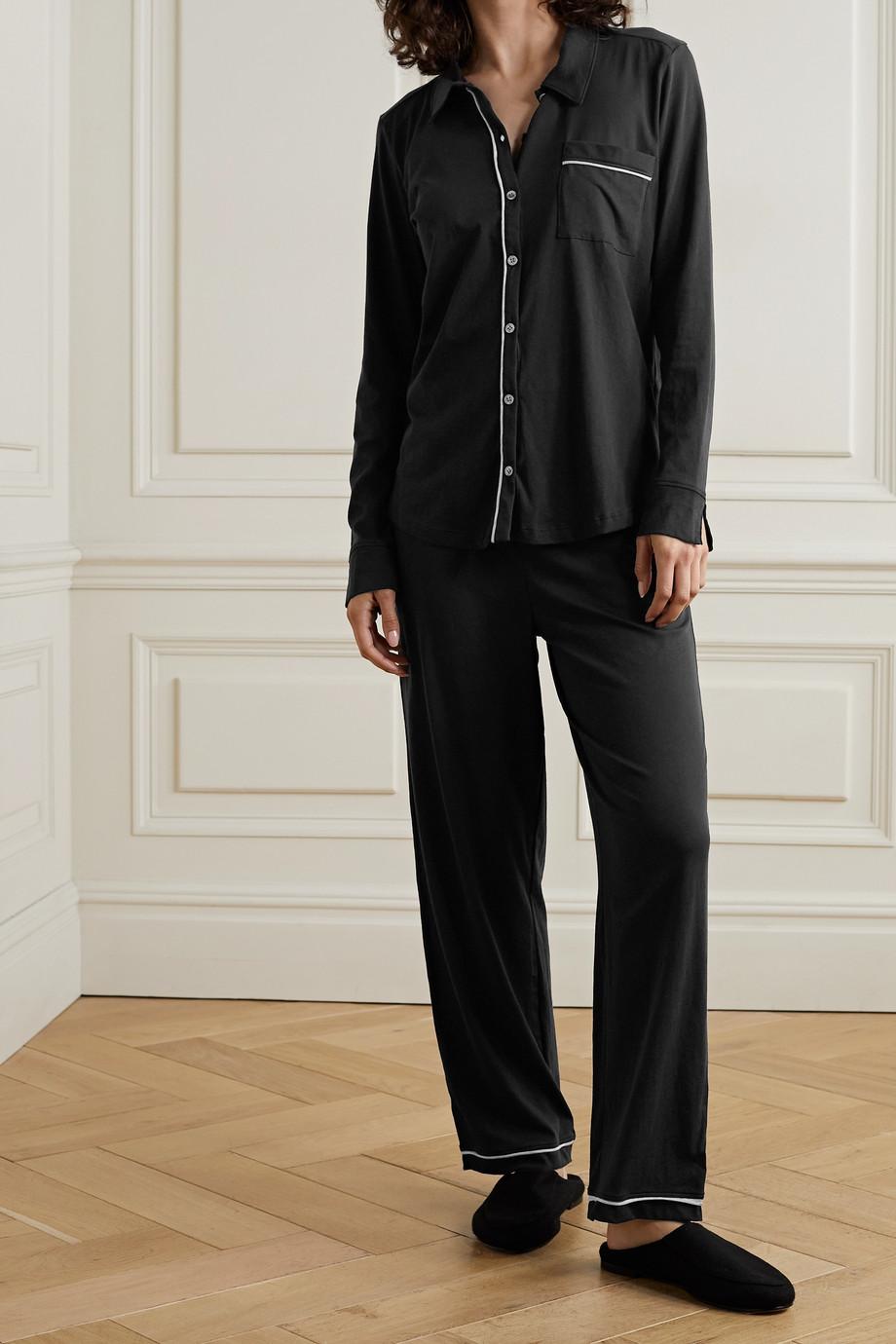 Skin Pyjama en jersey de coton Pima biologique Cecilia