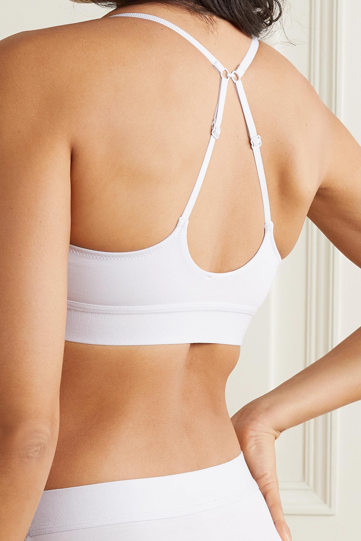 Skin + NET SUSTAIN Hadlee Triangel-BH aus Bio-Pima-Baumwoll-Jersey mit Stretch-Anteil