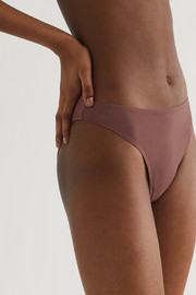 Skin Galen organic Pima cotton-blend jersey briefs
