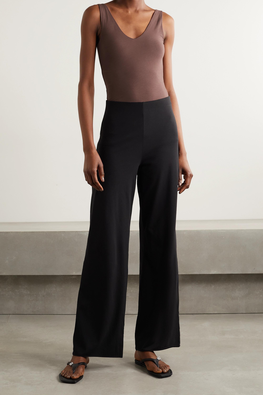 Skin + NET SUSTAIN Selene stretch organic Pima cotton-jersey bodysuit
