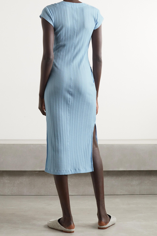 Skin Rabia ribbed Pima cotton-jersey nightdress