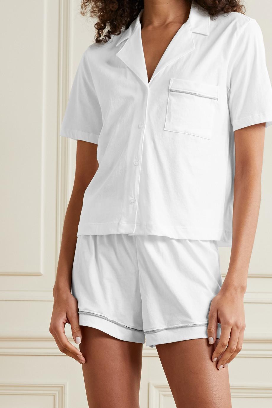 Skin Pyjama en jersey de coton Pima biologique Celina