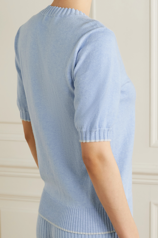 Skin + NET SUSTAIN Mirren organic cotton and cashmere-blend sweater