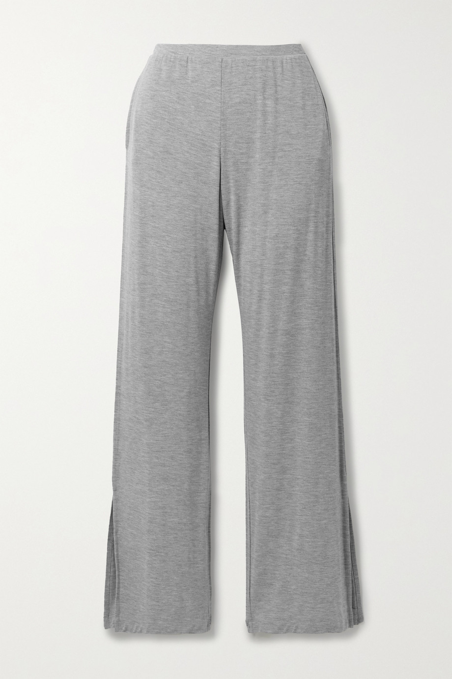 Skin Lumi mélange stretch-jersey pajama pants