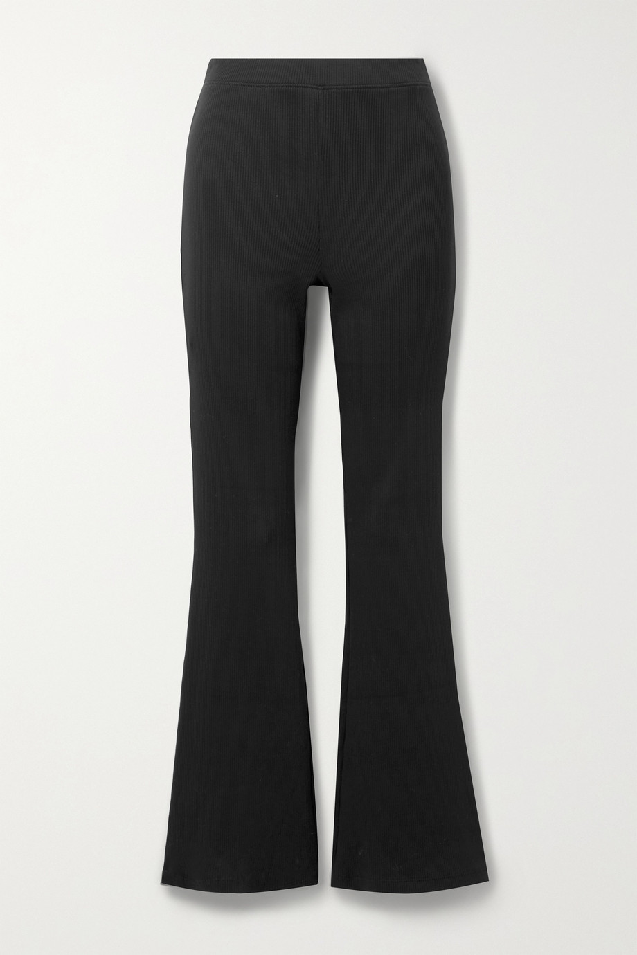 Skin Ilena ribbed stretch-Pima cotton jersey track pants