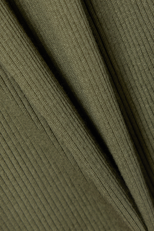 Skin + NET SUSTAIN Radika Nachthemd aus gerippter Bio-Pima-Baumwolle