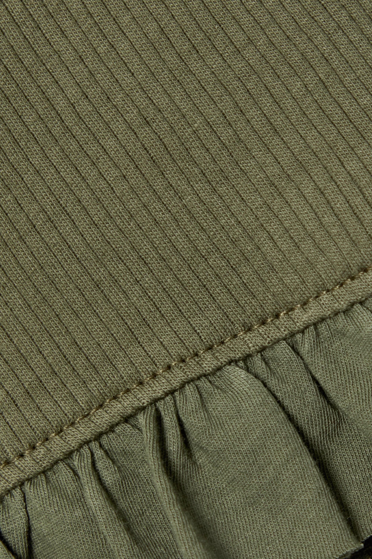 Skin + NET SUSTAIN Raise und Raffaela Pyjama aus gerippter Bio-Pima-Baumwolle