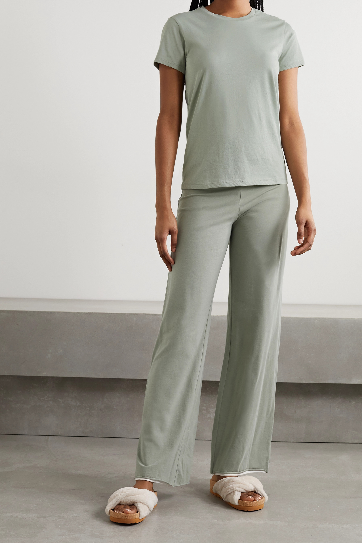 Skin T-shirt en jersey de coton Pima biologique Carly - NET SUSTAIN