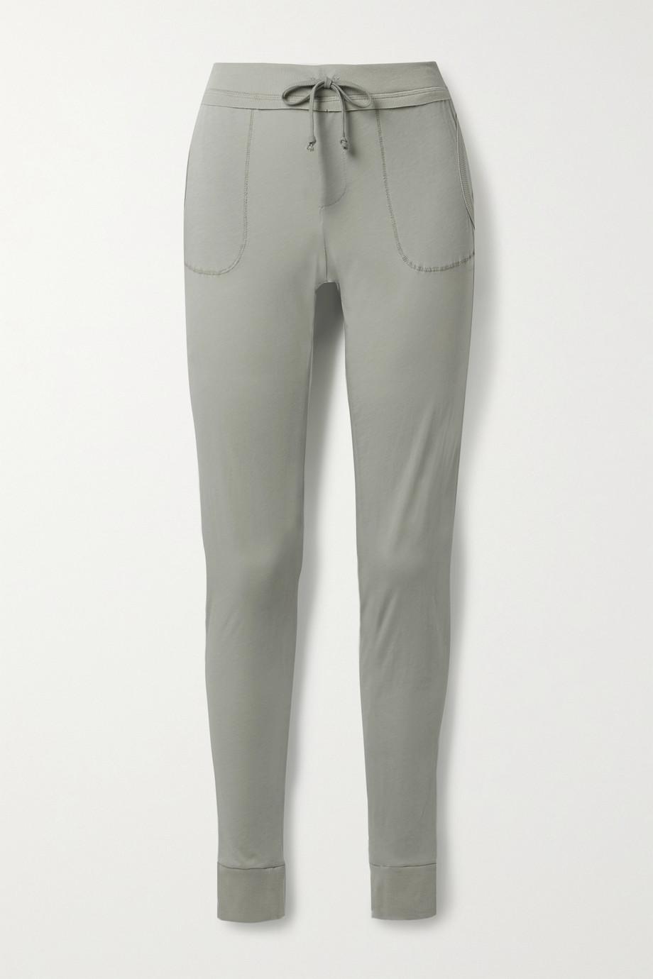 Skin Pantalon de survêtement en jersey de coton Pima biologique