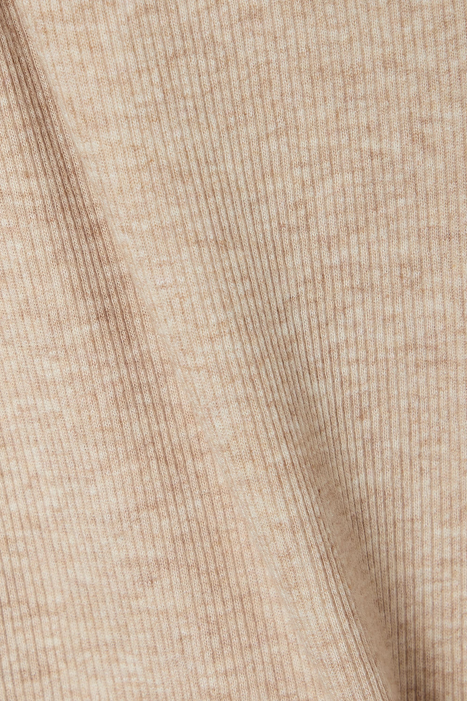 Skin + NET SUSTAIN Norma Leggings aus einer gerippten Bio-Pima-Baumwoll-Modalmischung mit Stretch-Anteil